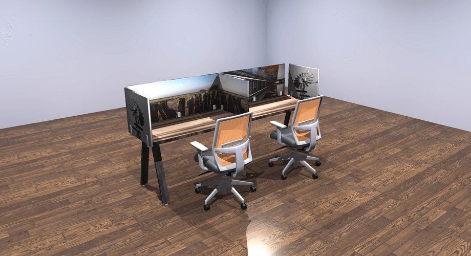 8x2-Table-front-view